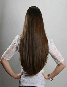 Long rounded v hair cut - Lord & Cliff - www. V Cut Hair, V Hair, Beautiful Long Hair, Gorgeous Hair, Pretty Hairstyles, Straight Hairstyles, 1930s Hairstyles, Pageant Hairstyles, Kid Hairstyles