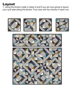 Lets Quilt Something: Threw the Looking Glass - Free Quilt Patterns - Charm Packs or Layer Cakes