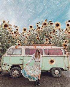 Prints — a map of dreams Hippie Look, Hippie Bohemian, Hippie Style, Vw Bus T2, Vw T1, Volkswagen Minibus, Bus Camper, Campers, Split Screen
