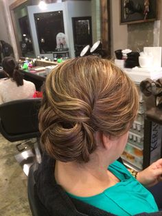 Updo by Vanessa placeres