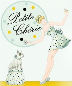 "Ad for ""Petite Chérie"" perfume"