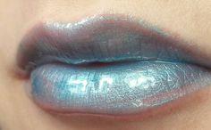 #blue #lip #mermaid #pastel