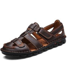 Want' to like a product without buying it, check this one out Genuine Leather M... only available on Costbuys http://www.costbuys.com/products/genuine-leather-men-sandals-summer-shoes-fashion-male-sandalias-beach-shoes-soft-bottom-footwear-for-men?utm_campaign=social_autopilot&utm_source=pin&utm_medium=pin