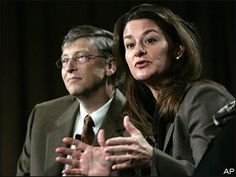 Melinda Gates...and her husband too.