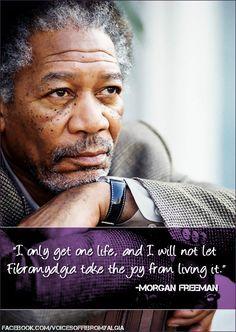 #MorganFreeman #Fibro  Why I Hope Morgan Freeman Becomes a Fibromyalgia Spokesman Read more click on pic! ~PinDiv@~