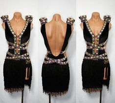 Latin Ballroom Dresses, Latin Dance Dresses, Ballroom Dancing, Jazz Costumes, Belly Dance Costumes, Gothic Anime Girl, Dance Fashion, Dance Outfits, Sensual