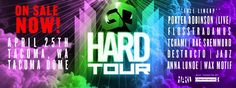 Are you feeling HARD?! Me too. All day, every day, especially now that Go Hard Tour Seattle was announced. This diverse lineup features the likes of anna lunoe, DESTRUCTO, JAUZ, Porter Robinson, Rae Sremmurd, Tchami, WAX MOTIF, and one of my faves, Flosstradamus. And I tend to avoid going anywhere near Tacoma, but if I had to pick a reason, Go Hard would be it. Tickets are on sale now here: www.gohardtour.com. Or if you're strapped for cash, enter this giveaway from our friends at The Tune…