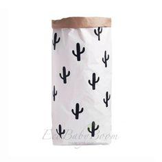 GRATIS verzending Cactus papieren zak speelgoed door EcoBabyBoom