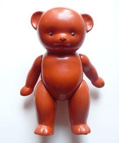 1950s USSR Russian Soviet Vintage Celluloid Toy Doll Bear Kid Mishka | eBay