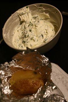 Bakes potato / Ofenkartoffel