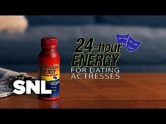 'SNL' Presents an Energy Drink For Dating Actresses