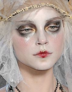 "130186: "" Jessica Stam at John Galliano Fall 2009 """