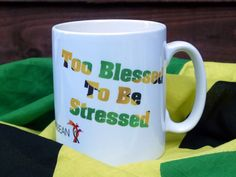 Kyrios Design Personalised & Novelty Mugs by KyriosDesign Novelty Mugs, Charity, Blessed, Stress, Inspirational, Tableware, Unique Jewelry, Handmade Gifts, Quotes