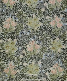 Bower wallpaper, by William Morris. England, late 19th century