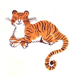 Image result for tiger illustration kids