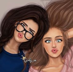 Want to discover art related to girly_m? Check out inspiring examples of girly_m artwork on DeviantArt, and get inspired by our community of talented artists. Girly M, Friendship Drawing, Amazing Art, I Am Awesome, Girly Drawings, Cute Drawings Of Girls, Drawings Of Friends, Drawing Of Best Friends, Anime Best Friends