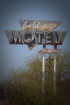 Los Alamitos Motel - Route 66 Grants, New Mexico. Photo credit TooMuchFire on Flickr.