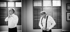 The Lambton :: Toronto Golf Club Wedding :: The groom! Moments before the ceremony.
