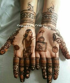 The Most Interesting Mehendi Designs From Real Weddings In 2016! | WedMeGood - Best Indian Wedding Blog for Planning & Ideas.