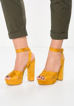 Tata Italia sandali con tacco  jellow