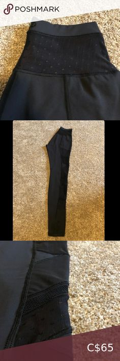 LULULEMON EMERGE RENEWED 7/8 LEGGINGS SIZE 4. - EUC, only worn twice - has mesh detailing along the sides as shown in the picture  - High-waisted lululemon athletica Pants & Jumpsuits Leggings Plus Fashion, Fashion Tips, Fashion Trends, Colorful Leggings, Pant Jumpsuit, Lululemon Athletica, Jumpsuits, Pants For Women, Mesh