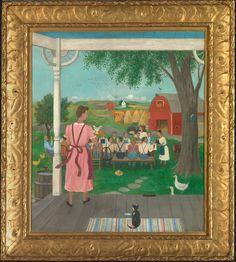 """""""Harvest Time,"""" by Doris Lee."""