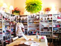 My kind of craft room...it keeps on going and going and going....