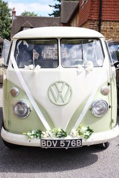 1960s VW Campervan for weddings in Chichester