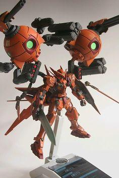 1/144 Gundam Astraea Type-F 'Twin Balls' Custom - GBWC 2014 Japan Entry Build