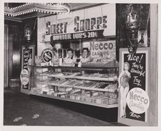 1956  Concession Stand at the Historic Alabama Theater, Birmingham