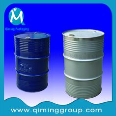 55 gallon or 200L steel drum with lids steel barrel-qiming packaging  (2)