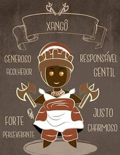 Qualities of the Omo Shango, sons and daughters of the Orisha of thunder. By Orádia N.C Porciúncula, Brazil. Orisha, Yoruba Religion, Grimoire Book, Holy Mary, Tumblr Wallpaper, Gothic Art, Sacred Art, Occult, Pagan