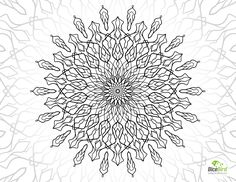 Magic Flower free printable coloring pages for adults only http://dicebird.com/magic-flower-free-printable-coloring-pages-for-adults-only/