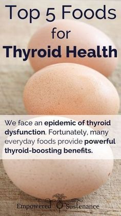 Top 5 Foods for Thyroid Health I would add sea vegetables (like nori, etc.) for #iodine absorption. From my little experience, top minerals that I look for in daily diet: Selenium, Iodine, & Zinc #thyroidhealth