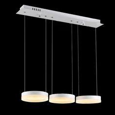Đèn thả LED TH-ML-JYY2-3C là loại đèn trang trí ấn tượng, độc đáo. Đèn có công suất 36W chiếu sáng bằng 3 bóng đèn LED dạng vòng tròn, công suất mỗi vòng bóng là 12W.