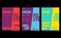 """For the fifth consecutive year Strichpunkt has been responsible for the conception and realization of the adidas Group annual reports. """"How we create the new"""", the Annual Report 2015, sets the """"Strategy 2020"""" as the main subject. The publications - magazine and the actual report - interpret this strategy with """"how we create the new"""" and """"how we create value"""". The reporting gives a very concrete answers to what is to be achieved within the 2020 targets and how th..."""