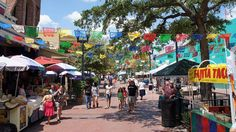 For a distinctly Mexican feel, hit up Market Square. Also known as El Mercado, this historic shopping district in downtown San Antonio is home to the largest Mexican shopping center in the city, along with plenty of festivals and exhibits.