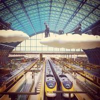 ロンドンのユーロスター発着駅       London St Pancras International Railway Station (STP) - ロンドン, Greater London