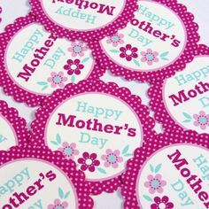Paperspice | Free Printable Mothers Day Circles