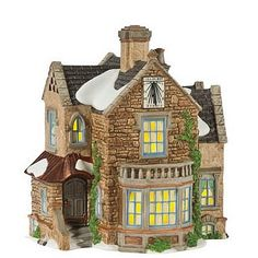 """Lea Hurst House    Size: 6.75 x 5.75 x 7""""  Collector Notes:  Introduced December, 2009  Retired December, 2011    Your Price: $95.00  On sale: $80.75"""