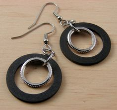 Circle Earrings Hoops Hardware Jewelry by additionsstyle on Etsy, $12.00