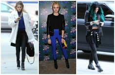 5 insanely cute celeb-inspired ways to wear your #leggings. #fashion