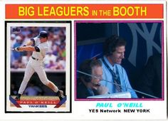 1976 Topps Style Paul ONeill, New York Yankees, 1993 Topps, Baseball Cards That Never Were.