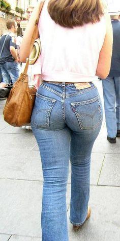 Tight Ass In Jean 80