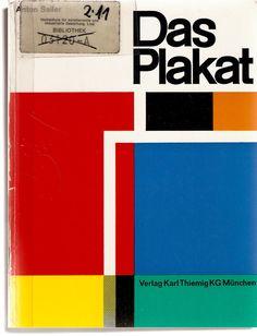 Das Plakat, graphic design, color block