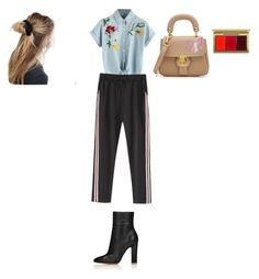 """""""Sin título #612"""" by g-alfonsina-devicenti ❤ liked on Polyvore featuring Burberry, ASOS and MAC Cosmetics"""