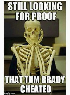 Keep looking!! HE DID NOT! Oh LOOK it is Roger Goodell