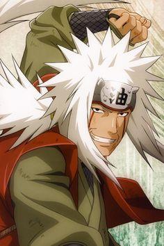 Jiraiya - One of the best anime characters ever.