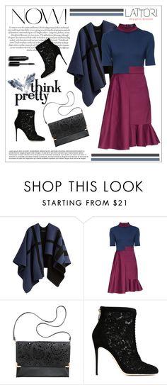 """LATTORI dress"" by water-polo ❤ liked on Polyvore featuring Burberry, Lattori, H&M, Dolce&Gabbana, Bobbi Brown Cosmetics, women's clothing, women's fashion, women, female and woman"