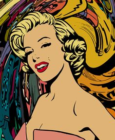 Marilyn by Des Taylor Marilyn Monroe And Audrey Hepburn, Marilyn Monroe Pop Art, Marilyn Monroe Tattoo, Marilyn Monroe Photos, Pop Art Vintage, Pop Goes The Weasel, Pinup, Norma Jeane, Art For Art Sake